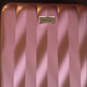 Rose gold Juicy Couture suitcase